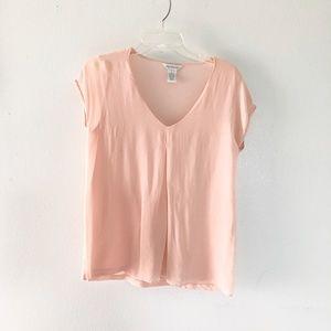 Sundance | Peach Pink Light Weight Chiffon Top